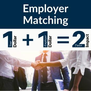 Employer matched giving