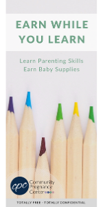 Front of Earn While You Learn Rack Card